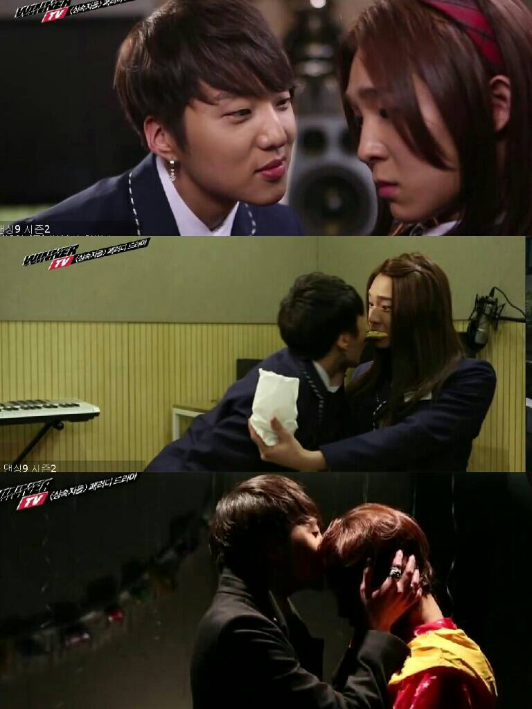 Kang&Nam Story on WinnerTV Ep 8 : The Heirs Parody  