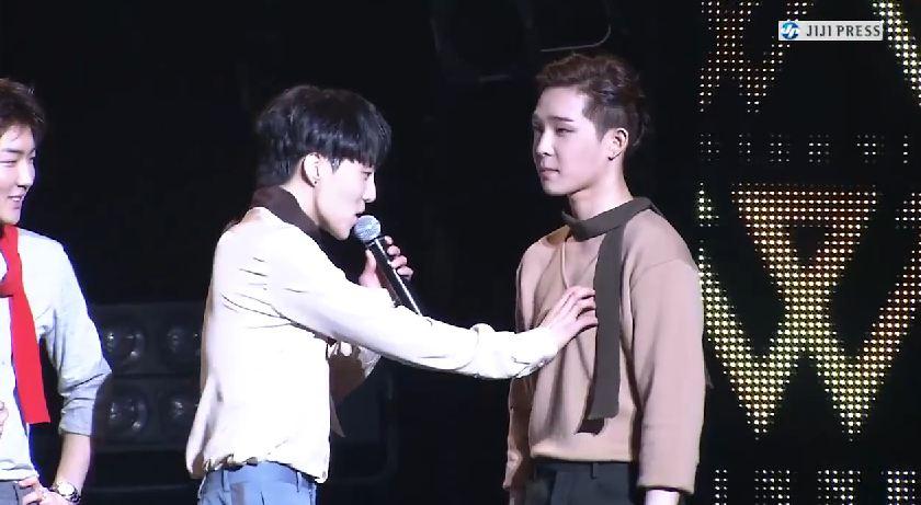 Kang&Nam – WINNER 1st Japan Tour Zepp Tokyo [140911]  
